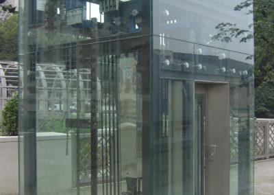 Cathédrale d'Amiens = édicule d'ascenseur