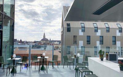 Le rooftop du Nū à Lille : chantier de l'extrême pour LMDM