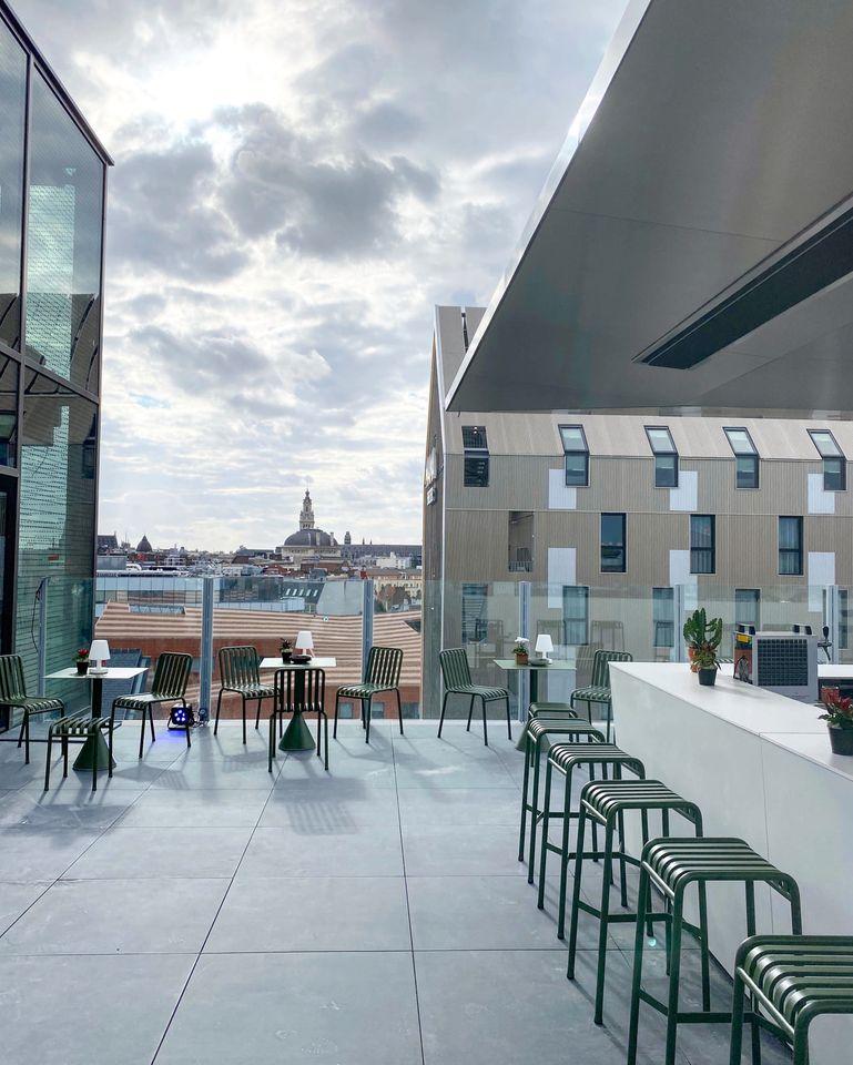 Le restaurant Nü et son rooftop... ouverture prochaine à Lille