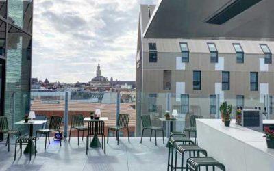 Le rooftop du Nū à Lille : chantier de l'extrême